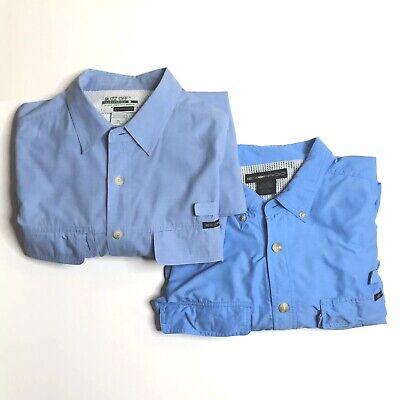 ExOfficio Mens XL Vented Outdoor Long Sleeve Shirts Lot of 2 Buzz Off Air Strip ()
