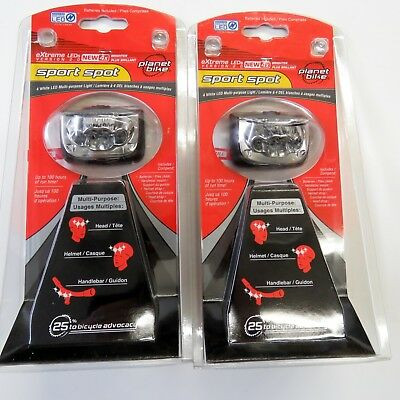 Planet Bike Sport Spot 4 LED Bicycle Light with Head, and Ha