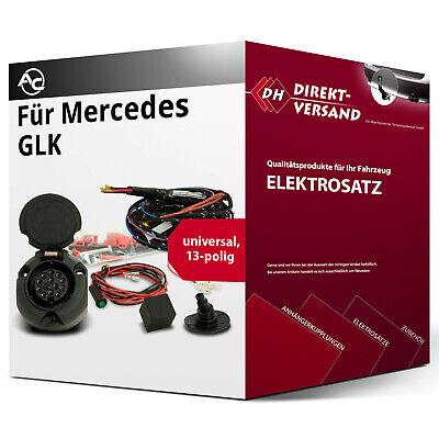 Für Mercedes GLK Typ X204 Elektrosatz 13polig universell top Esatz inkl. EBA neu