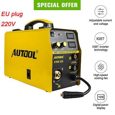 Autool Mig Welder 250a Stick Welding Machine Digital Inverter Welder Eu Plug