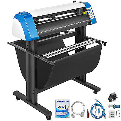 Vinyl Cutter Plotter Sign Cutting 34 Sticker Making Kit Sticker Print Craft Cut