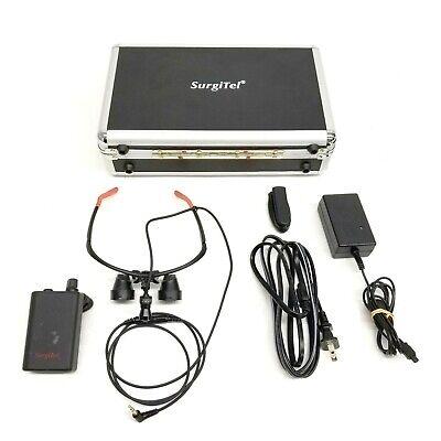 Surgitel 25957-57 Dc Ks17011 Led Headset Loupe W Odyssey Analog Battery Pack