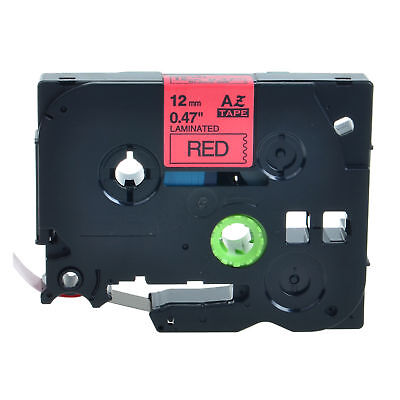 Tz431 Tze431 Black On Red Label Tape For Brother P-touch Pt-d200 12mm 12