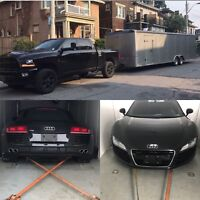 Enclosed car transport/hauling and trailer towing