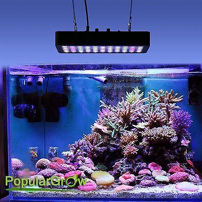 165W Dimmable LED Aquarium Grow Light Fish Tank Reef Coral Lamp USA Stock