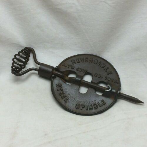 """Vintage Griswold 4"""" American Reversible Steel Spindle Flue Damper Erie PA"""