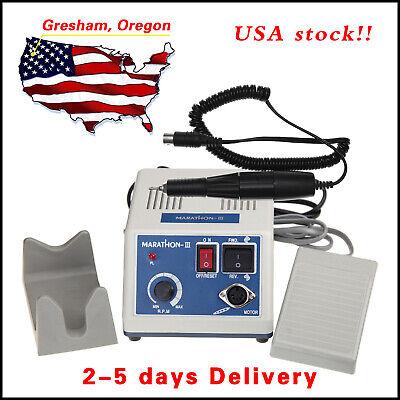 Usa Dental Lab Marathon Electric Micromotor Polishing N335k Rpm Motor Handpiece