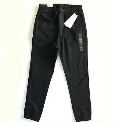 NWT Calvin Klein Men's Pull-on Stretch Slim Chino Pants Drawstring Waist Joggers