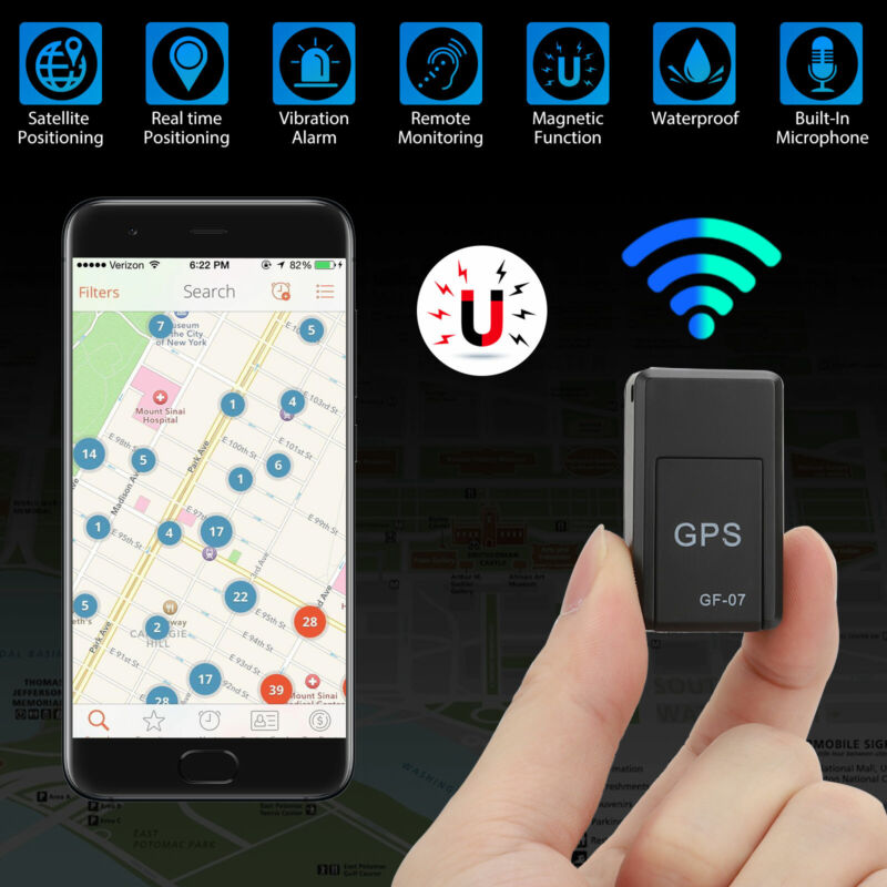 GF07 Magnetic Mini GPS Real Time Car Truck Locator Tracker GSM GPRS Device