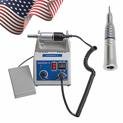 Dental Lab Marathon 35k Rpm Electric Micromotor With Straight Handpiece