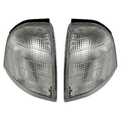 Mercedes C180/280 W202 Blinker weiß 93-00 NEU SET Blinkleuchte Links + Rechts