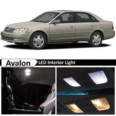 2004 Toyota Avalon Light - White Interior LED Lights Package Kit for 2000-2004 Toyota Avalon