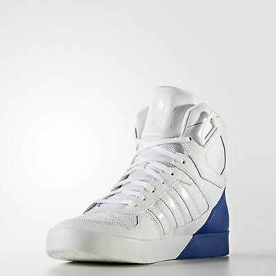 Adidas Women's Originals Zestra High Top Trainers White/Collegiate Royal Blue