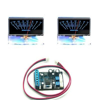 2pcs P-97 Panel Vu Meter Level Db Audio Power Amplifier Ta7318p Driver Board