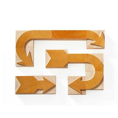 Letterpress Modular Arrows - Wood Type 18 Pieces