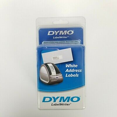 Dymo 30572 Labelwriter Self-adhesive Address Labels 1 18- By 3 12-inch White