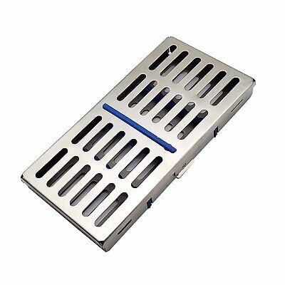 Dental Sterilization Cassette Rack For 7 Instruments Autoclave Tray Surgical