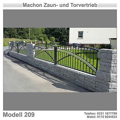 Modell 209 - Gartentor, Eisentor, Zaun, Schiebetor!