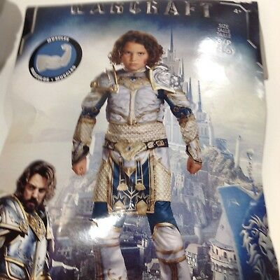 King Llane Boys Small 4-6 Size World Of Warcraft Knight Costume 3 - 3 Kings Costumes