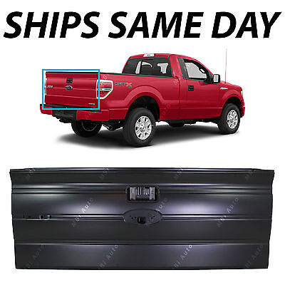 NEW Primered - Rear Tailgate for 2009-2014 Ford F150 W/out Integrated Step 09-14