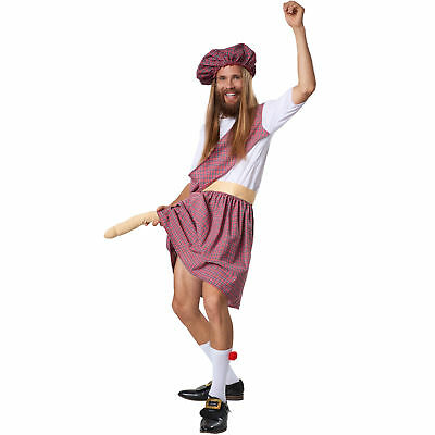 Kostüm Herren Highlander mit Penis Fasching Karneval Junggesellenabschied (Kostüme Penis)