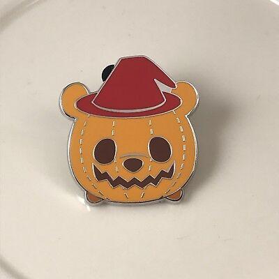 Tsum Tsum Halloween Mystery Box Pin Hong Kong Disneyland Pumpkin Winnie The Pooh