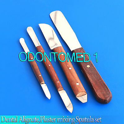 Dental Alignateplaster Mixing Spatula Set Waxmodellingcarvers Lab Mixing
