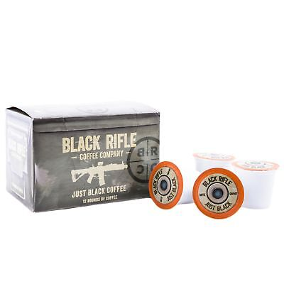 Black Rifle Coffee Company Jb  Just Black  Coffee Rounds For Single Serve