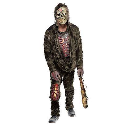 Erwachsene Herren Horror Zombie Kletterpflanze Wandern Swamp - Zombie Wanderer Kostüm