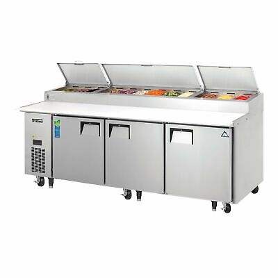 Everest Eppr3 93 Pizza Prep Table Refrigerated Counter