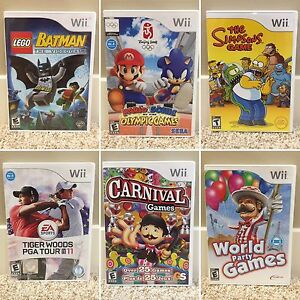Like New Nintendo Wii Games