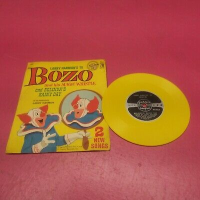 LITTLE GOLDEN RECORD 698 BOZO AND HIS MAGIC WHISTLE & BELINDA'S RAINY DAY(GR25) Rainy Day Magic