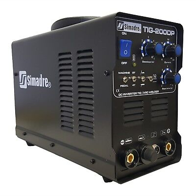Tig Mma Pulse 200a Welder Simadre Tig200dp 110220v Dc Inverter Welding Machine
