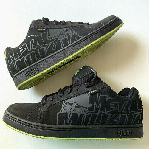 Etnies Metal Mulisha Fader Mens Size 12 Black Skateboard  Sneaker Shoe