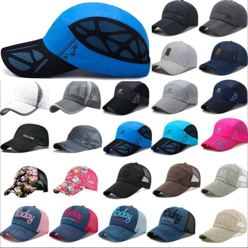 Trucker Hat Unisex Mesh Breathable Baseball Cap Snapback Vis