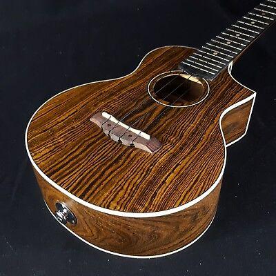 Ibanez UEW13E Concert Cutaway Acoustic Electric Ukulele Bocote for sale  Stoughton