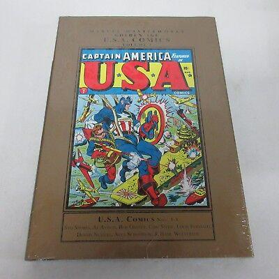 Marvel Masterworks Golden Age Captain America U.S.A. Comics Vol 2 HC New Sealed