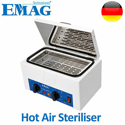 Emag Autoclave Sanitize Dry Heat Hot Air Sterilizer Dental Nail Beauty Salon
