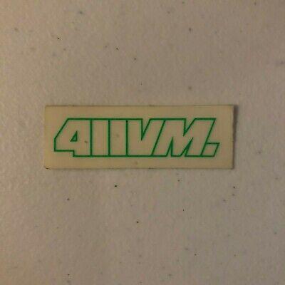 Media Skateboards Sticker Nos Vintage 90s Skate Bike 411vm
