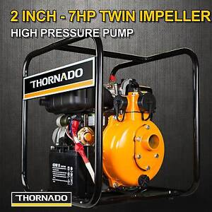 Thornado 2 Inch DIESEL Water Pump 7HP E-Start Fire Fighting Chipping Norton Liverpool Area Preview