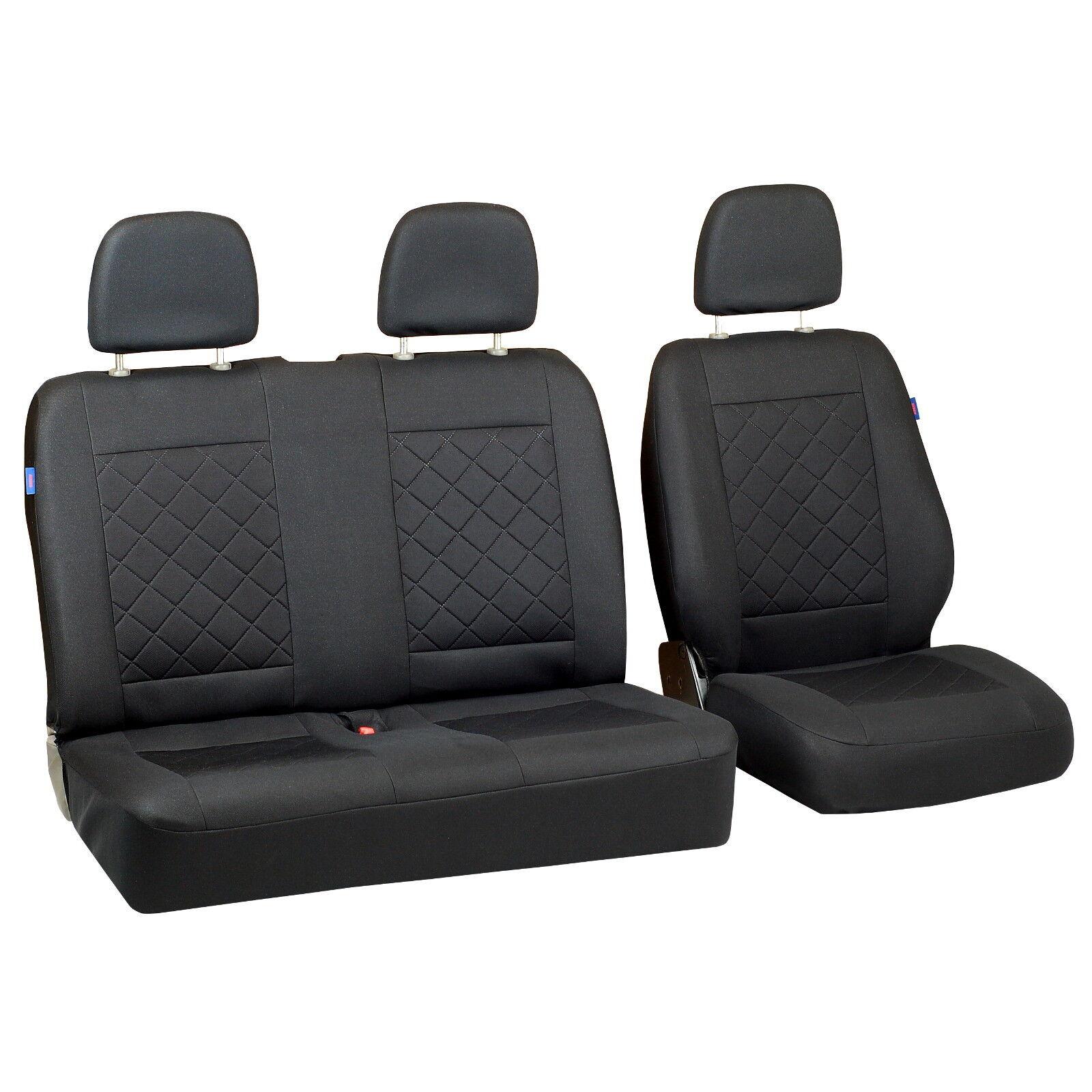 Kunstleder Sitzbezüge Sitzbezug Schonbezüge für Renault Clio 1 2 Grau Set