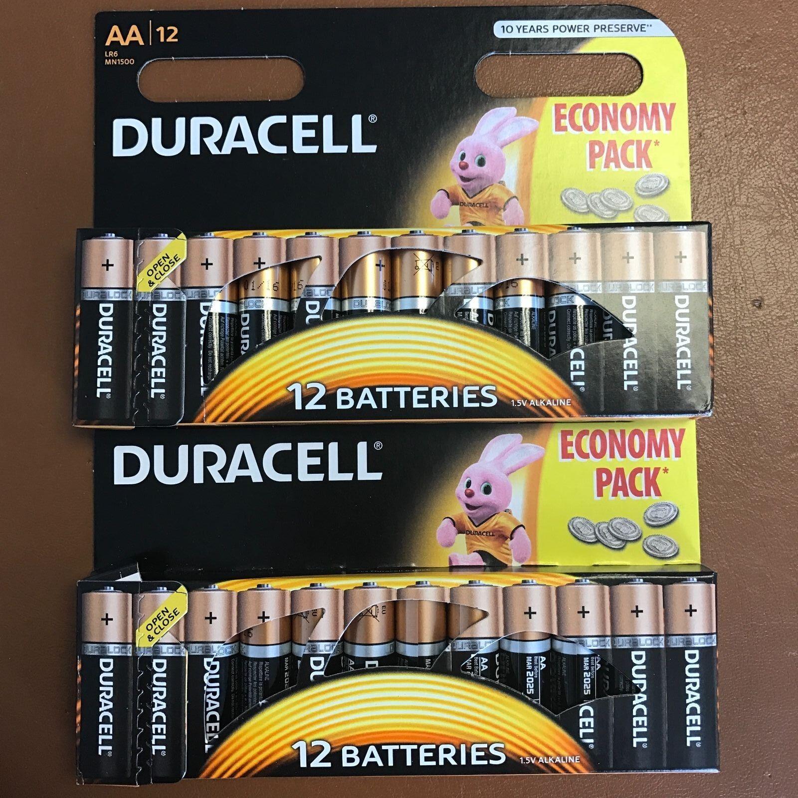 24 X Duracell Aa Langlebig Power Alkaline Batterien Vorteilspack LR6 MN1500