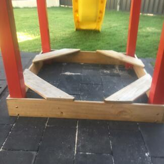 Kids large swing set castle
