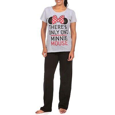 Ladies Disney Minnie Mouse Pyjamas | Womens Minnie Mouse Pyjama Set | Disney PJs