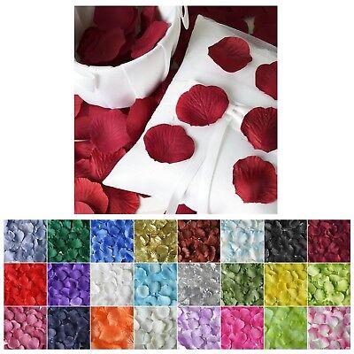 500pcs Artifical Rose Petals For Wedding Confetti Flower Girl Wedding Decoration (Flower Girl Petals)