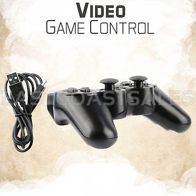 Black Wireless Bluetooth Video Game Controller Pad For Sony PS3 Playstation 3