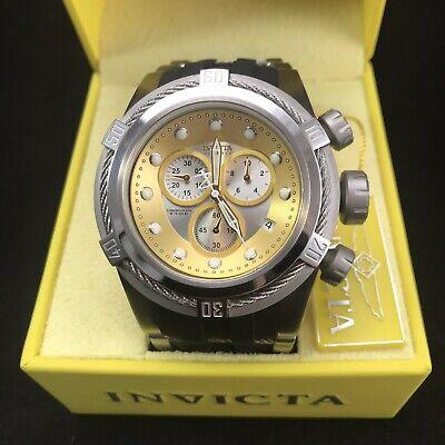 Invicta Men's Bolt Zeus Reserve Gold & Silver Dial Steel & Silicone Strap 21811