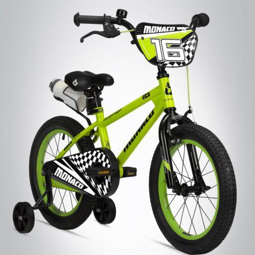 16 Zoll Kinderfahrrad Bergsteiger Monaco Kinderrad BMX Fahrrad Stützräder