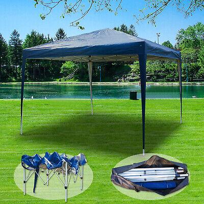 3x3m Popup Gazebo Waterproof Marquee Canopy Outdoor Garden Wedding Party Tent