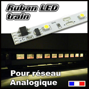 ruban led blanc chaud pour voiture voyageur train ho jouef lima roco ebay. Black Bedroom Furniture Sets. Home Design Ideas
